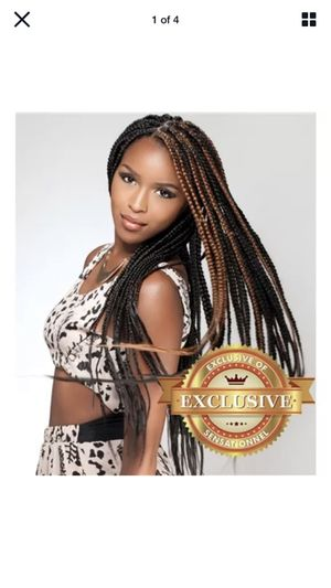 Sensationnel African Collection Braiding Hair X-PRESSION BRAID for Sale in Michigan City, IN