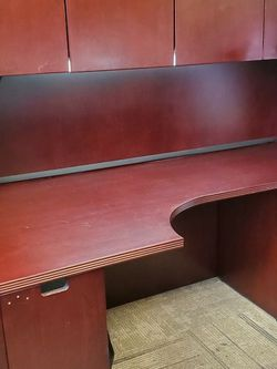 Desk W/ Hutch And Lights And Second Desk Matching for Sale in Mill Creek,  WA