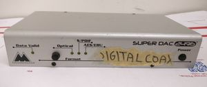 M-AUDIO SUPER DAC 2496 DIGITAL INPUT TO ANALOG OUTPUT AUDIO CONVERTER PRO for Sale in Santa Ana, CA