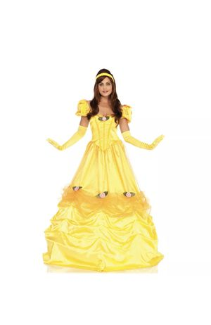 Leg Avenue Bell of the Ball Costume Belle Beauty And the Beast Dress Size Medium for Sale in Punta Gorda, FL