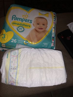 Diapers size 2 and 3 for Sale in Riverside, CA