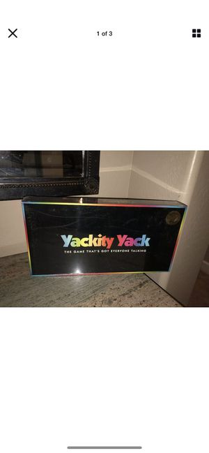Yackity Yack The Game That's Got Everyone Talking - Family Board Game NEW! for Sale in Surprise, AZ