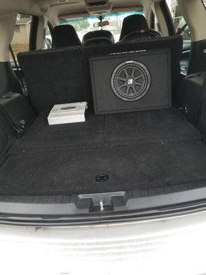 Kicker 10 inch subwoofer brand new for Sale in Temple, TX