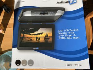 New Audiovox HD Car SUV DVD Player with extras for Sale in Lake Stevens, WA