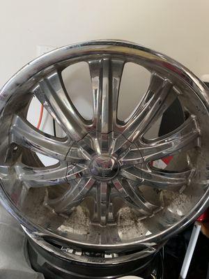 20 inch Chrome Rims for Sale in Riverdale, GA