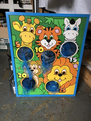 Kids toss and score game board for Sale in Beaverton, OR