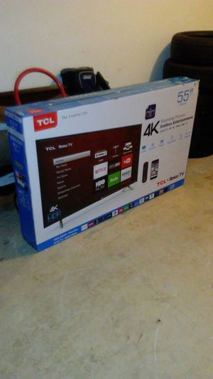 "*New 55"" In. TCL Roku Smart TV* for Sale in Ellenwood, GA"