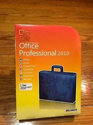 Microsoft Office Professional 2010 for Sale in Tamarac, FL