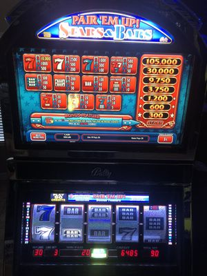 Bally Stars and bars Slot Machine. for Sale in Laveen Village, AZ