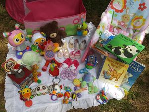 Baby Toy Lot with Car Seat for Sale in Mobile, AL