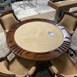 Poker Table and 4 Chairs for Sale in Scottsdale, AZ