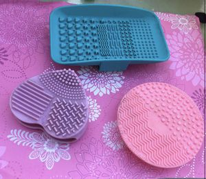 Makeup Brush cleaner mats (all 3) for Sale in Vallejo, CA
