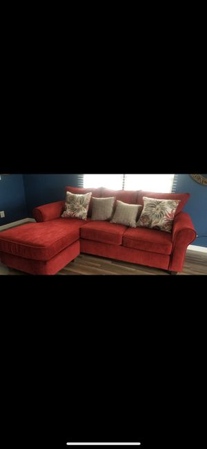 Red couch for Sale in La Vergne, TN