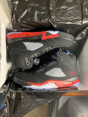 "Air Jordan ""top 3"" retro 5s DS size 11. No lowballing for Sale in Douglasville, GA"