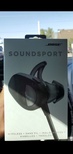 Bose soundsport free wireless headphones for Sale in Las Vegas, NV