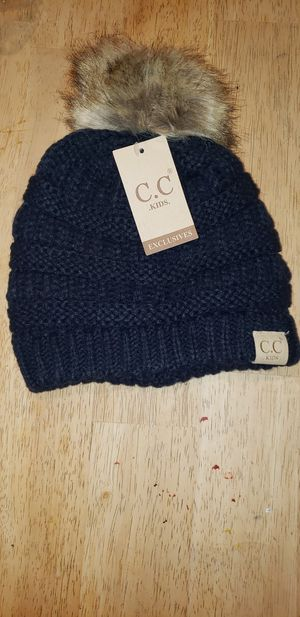 CC Kids Navy Blue Beanie for Sale in Rockland, MA