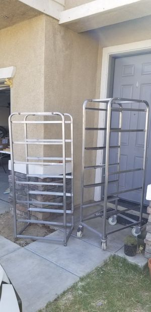 Metal rack- shelves for Sale in Perris, CA