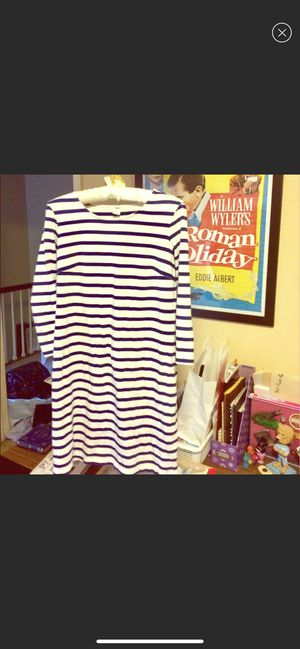 Blue and White Striped Mariner Dress, XS for Sale in Baton Rouge, LA