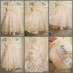 Joan Calabrese girls flower/holy communion girl dress for Sale in Presto, PA