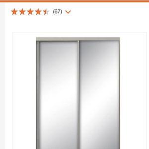 Closet Mirror Sliding Door (new In Box) for Sale in Whittier, CA