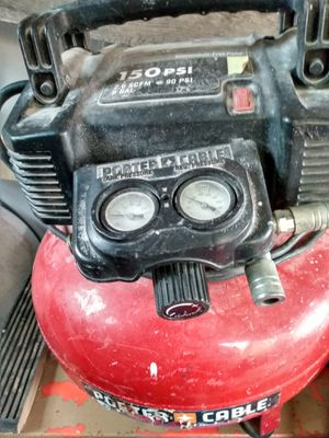150psi Potter Cable compressor for Sale in Kent, WA