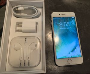 Iphone 6s (32GB)-Silver for Sale in Temple City, CA