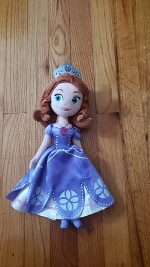 Sofia the First Plush Doll and Book Set for Sale in Milton, DE