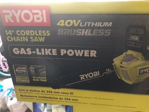 Chainsaw RYOBI for Sale in Washington, DC