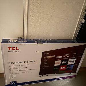 65 Inch 4K TCL TV NEW!!!!! for Sale in Alexandria, VA