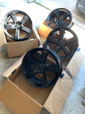 Black 20 in rims for Sale in San Antonio, TX