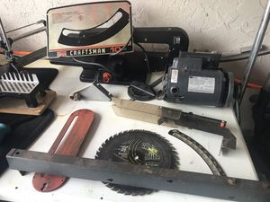 """10"""" Table Saw Parts for Sale in Cape Coral, FL"""