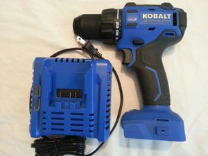 New Kobalt brushless drill & charger for Sale in Fontana, CA