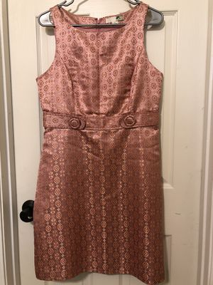 XXI dress size L pink and gold for Sale in Goodyear, AZ