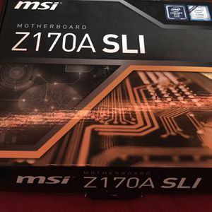 MSI Z170A SLI motherboard and intel celeron Combo for Sale in Issaquah, WA