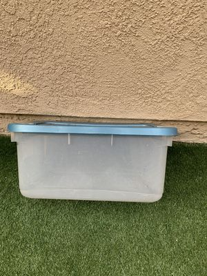 4 plastic storage containers for Sale in Chino Hills, CA