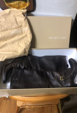 Sergio Rossi leather boots for Sale in Annandale, VA