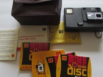 Kodak Disc 3000 Camera with carrying case and film for Sale in Seattle,  WA