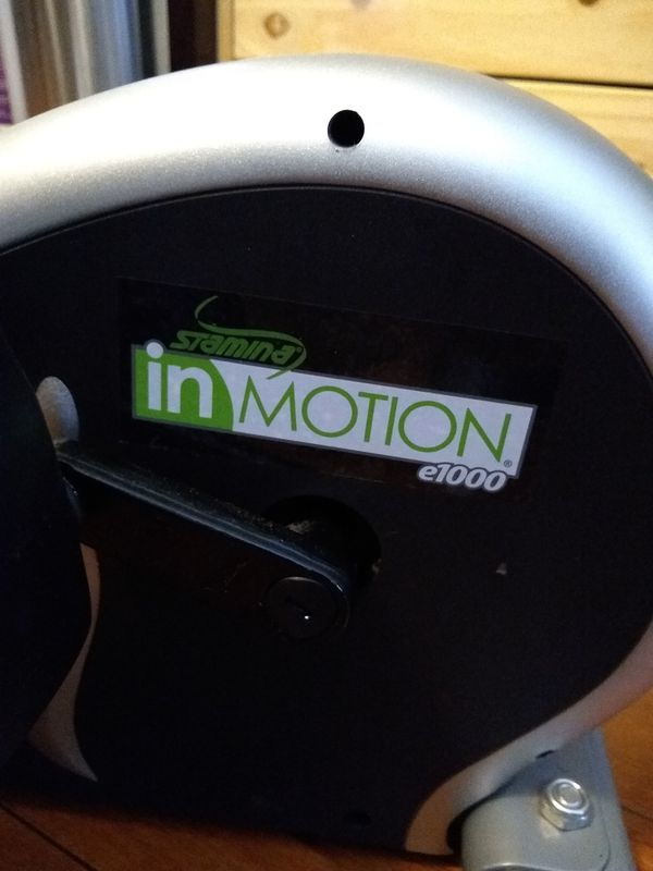 InMotion at home elliptical machine