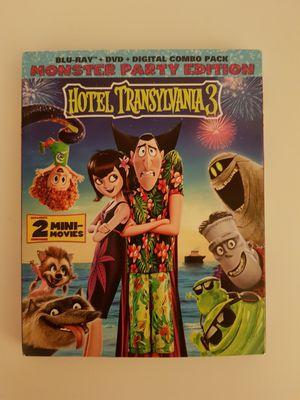 Hotel Transylvania 3 Blu Ray + DVD combo for Sale in Key Biscayne, FL