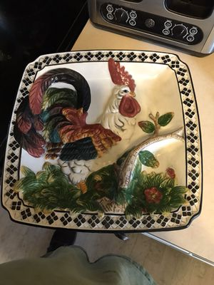Chip and dip plate in good condition for Sale in PT CHARLOTTE, FL