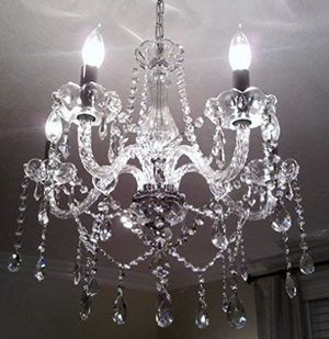 New in box real crystal and glass chandelier for Sale in Tuscaloosa, AL