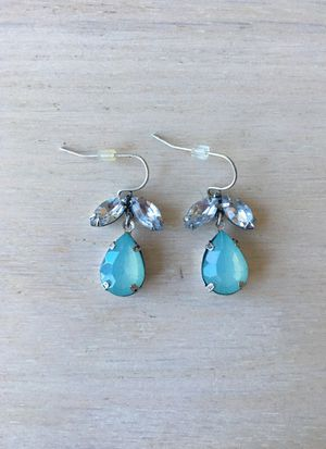 Teal Stone Earrings for Sale in Chicago, IL