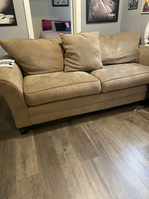 Sofa suede for Sale in Hamilton Township, NJ