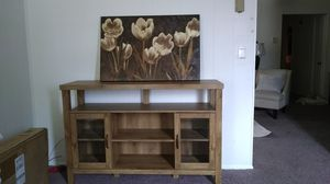 buffet table 75 Pic comes with if you want it. for Sale in Lakehurst, NJ