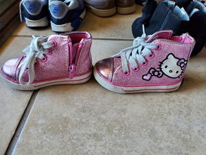 Toddler Girl Shoes SZ 4, 5 & 6 for Sale in Mesquite, TX