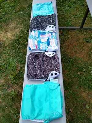 5 Bum Genius Cloth Diapers for Sale in Boston, MA