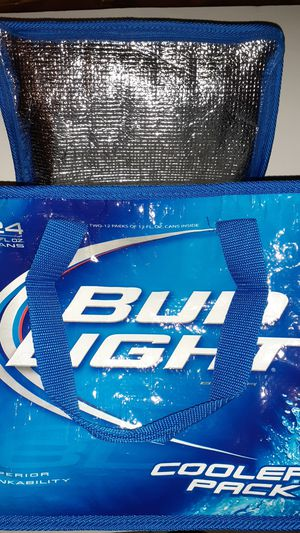 Bud light cooler pack for Sale in Bakersfield, CA