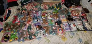 33 McDonald's beanie babies & 4 BAB for Sale in Las Vegas, NV