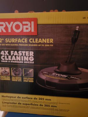 RYOBI PRESSURE WASHER SURFACE CLEANER for Sale in Beaumont, CA