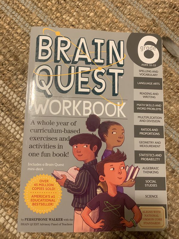 6th grade learning work book